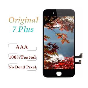 OEM 원래 LCD 아이폰 7 플러스 등급 + + + 품질 디스플레이 터치 디지타이저 전체 화면 프레임 전체 어셈블리 교체