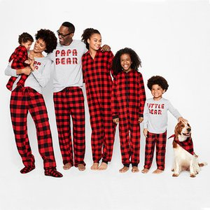 Brand New Family Christmas Matching Pyjama Set femmes bébé enfants Cerfs Pyjamas de nuit