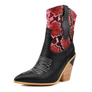 Kadın Boots Perçin Diz Yüksek Boots El yapımı deri Uzun Patik Kadınlar Yüksek Kovboy Moda Günlük Ayakkabılar