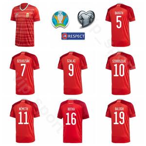Hongrie Soccer Jersey 2020 Coupe d'Europe 9 SZALAI 17 VARGA 16 Patkai 8 NAGY 10 Szoboszlai 16 Botka 21 BESE football Kits chemise