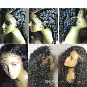 H 360 Lace Frontal Wigs Human Hair 12 &Quot ;-22 &Quot ;Water Wave Brazilian Lace Front Human Hair Wigs 180 %Density (14 Inch
