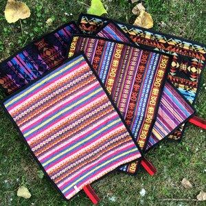 Cuscini per esterni portatili a prova di umidità Stile etnico Cuscini per bambini leggeri impermeabili Persona singola per addensare Fold Squisita Nuovo arrivo 7 5gtI1