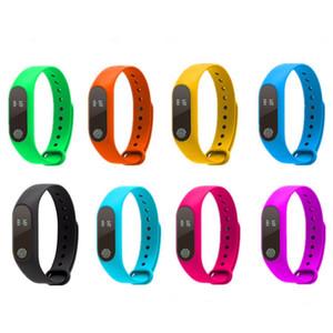 М2 Смарт-Часы Шагомер Фитнес-Трекер Браслет Смарт-Часы Водонепроницаемый Монитор Сердечного Ритма Smartwatch Вызова Напоминание Смарт-Часы Браслет