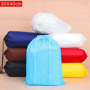 Waterproof Drawstring Storage Bag Kitchen Grocery Laundry Clothing Shoe Traveling Bags Portable Tote Travel Package set