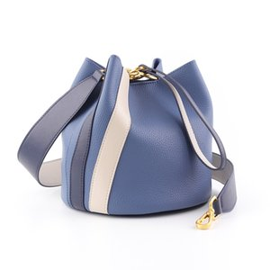 2020 new lady bag Messenger bag leather bucket bag shoulder handbags