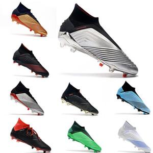 ADIDAS Predator 19+18.1 FG chuteiras de futebol sem chã futebol ao ar livre sapatos de futebol meia botas Ultra tamanho 39-45