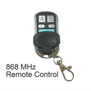 50pcs 868 MHz Universal Remote Control duplicador Clonagem Copiar Transmissor porta para garagem Interruptores