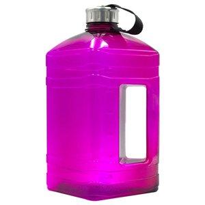3.8L formation bouteille Water Container PETG Sport Gym Carry Voyage en plein air Leakproof grande capacité Drink Cap Camping