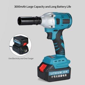 Chave de Impacto Chave de Impacto NL721 sem escova elétrica recarregável sem fio ferramenta de poder 2600mAh para a instalação da broca Desmontagem