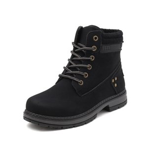 New women fashion boots snow martin boot ankle shot for winter triple black chestnut pink womens shoe