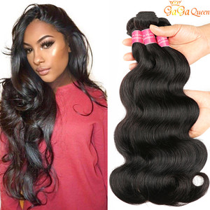 Brazilian Body Wave Wet and Wavy Virgin Brazilian Hair 3 Bundles Brazilian Human Hair Weave No Shedding