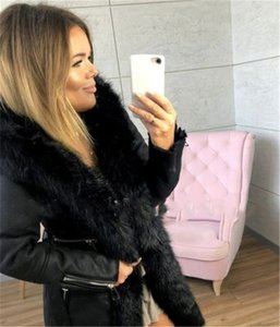 Casual Women Winter Sashes Warm Skim Long Medium Fur Neck Fashion Coats With Coats Apparel Women Designer Qwjpb