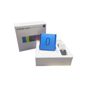 Authentique E Bossvape Epod Vape Kit 500mAh Batterie rechargeable Portable système Pod avec cartouche 0,5ml