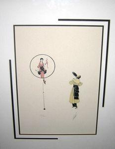 ERTE»- Fantaisie - тисненый Home Decor расписанной HD печать Картина масло на холст стены искусство Холст картинка 191102