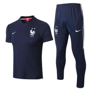 2 Etoiles Maillot de Foot footing le football Survêtement adulte chandal Equipe de piste d'entraînement Survêtement France de football costume
