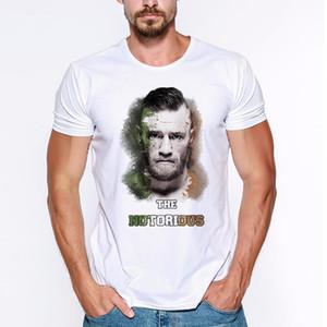 CONOR Summer McGregor Abbigliamento manica Abbigliamento creativo Tees Design Breve colonnello uomo T Shirt Stampato Sanders Divertente T-shirt Harland Lumeh
