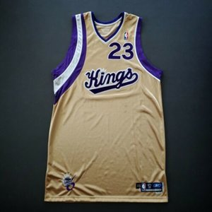 Cheap 100% Stitched Kevin Martin SAC 2005 06 Game Worn Issued Jersey Used Top Basketball jerseys