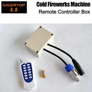 Tiptop Stage Light Small Remote Controller Cable Power Cable / DMX Cable Soporte Máquina de fuegos artificiales Control individual China Proveedor