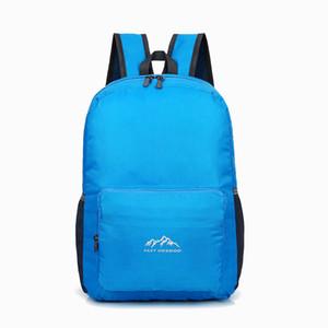 Çok Fonksiyonlu Su geçirmez sırt çantası Taşınabilir Ultra Hafif Çantası Katlanır Çanta Seyahat İlköğretim Ve Ortaöğretim 521
