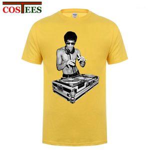 New Creative Design père Kungfu fou Bruce DJ shirt Homme MMA T-shirt tshirt homme Jeet Kune Do Top Hipster Punk T shirt1