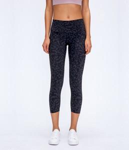 2047 vita alta atheltics yoga lpeggings capris sport delle donne leggings di fitness elastici in esecuzione sottile pantaloni da ginnastica