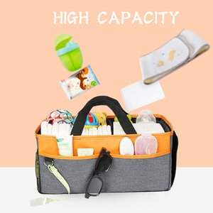 Baby Diaper Caddy By Portable Nursery Storage Box Diaper Bag for Baby Supplies