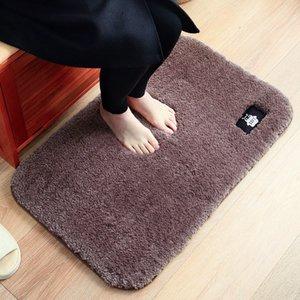 순수한 색상 벨벳 카펫 흡수성 매트 면적 거실 용 러그 카펫 거실 용 러그 카펫 모피 모피 카페트