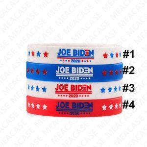 Joe Biden for President Bracelet Silicone Bangles Wristband Unisex Men Women Rubber Bracelets 2020 USA America Voting Accesseries Toys D7211