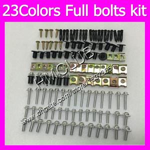 Fairing screws Full bolts kit For SUZUKI GSXR1300 Hayabusa GSXR 1300 96 97 98 99 00 01 02 03 04 05 07 MC162 OEM Body Nuts bolt screw Nut kit