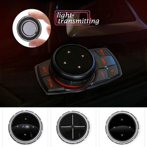 BMW iDrive Araç Multimedya Düğmeler Kapak M Amblem Çıkartma BMW E46 E39 E60 E90 E36 F30 F10 X5 E35 E34 E30 F20 E92 E60 M5 # 19s için