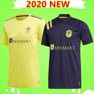 2020 Nashville SC Futebol 2021 Inaugural MLS LEAL 20 21 Daniel Lovitz Dominique Badji Hany Casa longe camisa de futebol 2021 Uniform
