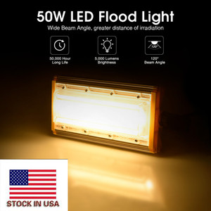 USA Stock 50W Flood Light 220V LED Floodlight Outdoor Module Flood Lights Lamp Landscape Lighting Fixture
