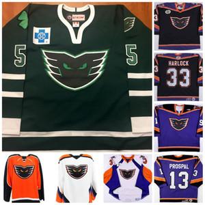 AHL Philadelphia Phantoms 33 David Harlock 13 PROSPAL Custom Hockey Jersey Stitch Name Stitched Number High Quality