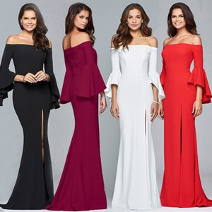 Sexy deep v-neck dress female white half-sleeved casual party cocktail party wedding retro dress ladies evening dress