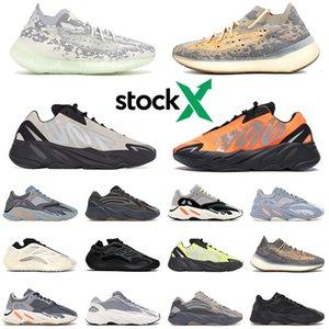 2020 Stock X kanye west MNVN running shoes Vanta Alvah Azael Reflective Mist Alien mens platform des chaussures sports sneakers 36-46