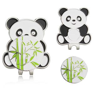Panda - Metal Golf Ball Mark Magnetic Hat Clip، جولف ماركر الايدز التدريب