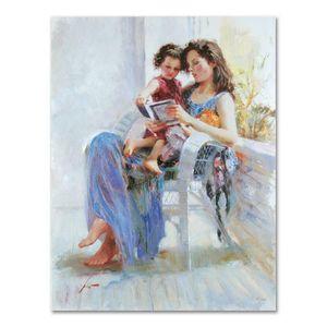 "Pino Art Pintura ""Livro de Poemas PP"" Home Decor pintado à mão HD cópia da pintura a óleo sobre tela Wall Art Canvas Pictures 200620"