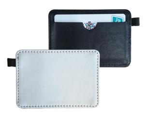7CMX11CM PU Sublimación en blanco tarjeteros cubierta de la caja del bolso para autobús o tarjeta bancaria Impresión de transferencia de calor