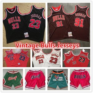 23 Michael MJ Mens Red Throwback Authentic Vintage Chicago