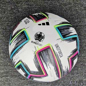 Bola Europeu de Futebol Copa 2020 final KYIV PU Tamanho 5 bolas Granulado Football frete grátis Bola de alta qualidade anti-derrapante
