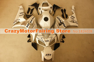 3Gifts Nouvelle ABS moto Injection Mold Kits carénages 100% pour Honda CBR1000RR 06 07 2006 2007 carrosserie carénage blanc gris mode froid