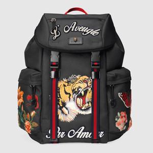 Moda sırt çantası tasarımcı sırt çantası yüksek kaliteli yüksek teknoloji nakış kanvas çanta seyahat çantası son çanta ücretsiz alışveriş