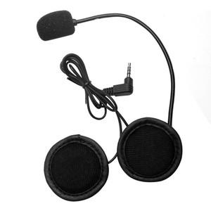 Microphone Speaker Headset V4 V6 Interphone Universal Headset Helmet Intercom Clip for Motorcycle Bluetooth Device
