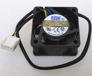 New AVC 4020 4cm Lüfter 4-Draht DS04020B12H maximal 0,20 Ra DS04020B12U 0,25A