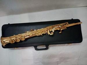 일본 Yanagisawa Soprano Saxophone S-901 B flat 악기 고품질 Yanagisawa Straight Sax Professional