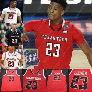 NCAA Texas Tech Basketball Jersey Jahmi'us Ramsey Terrence Shannon Jr. Thanek Smith Clarence Nadolny Russel Tchewa Kevin McCullar Moretti