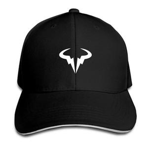 야구 모자 Rafael Nadal Natto Bull 로고 인쇄 Mens 여자 고양이 모자 힙합 야구 모자 조정 가능한 Snapback 모자 모자 남자 Femal 모자