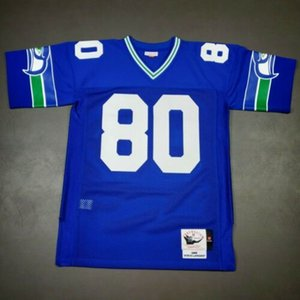 Cheap 100% Stitched Steve Largent Mitchell Ness 1985 Seahawks Jersey Size XS-5XL Mens Throwbacks Top Football jerseys
