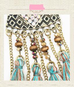 Vintage Tassel Statement Bohemian Fringe Feather Earrings for Women Fashion Earrings Dangle Set for Valentine Birthday Halloween Christmas G