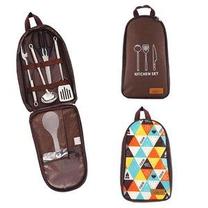 Camping Pentole Utensili da cucina casalinghi Organizzatore barbecue portatile di immagazzinaggio del sacchetto Backpacking campeggio forniture di cottura